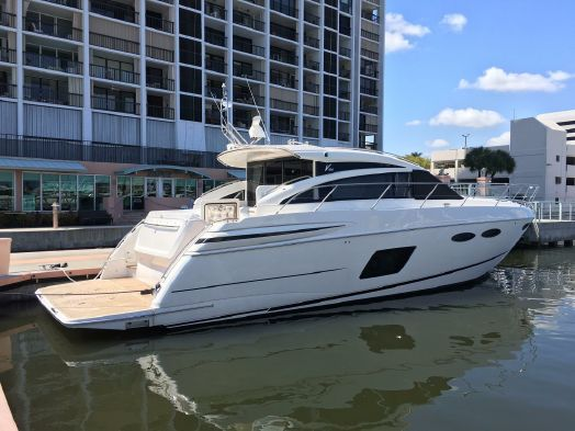 Princess V52 2015 Proprio Yacht Canada Boats For Sale Bateaux