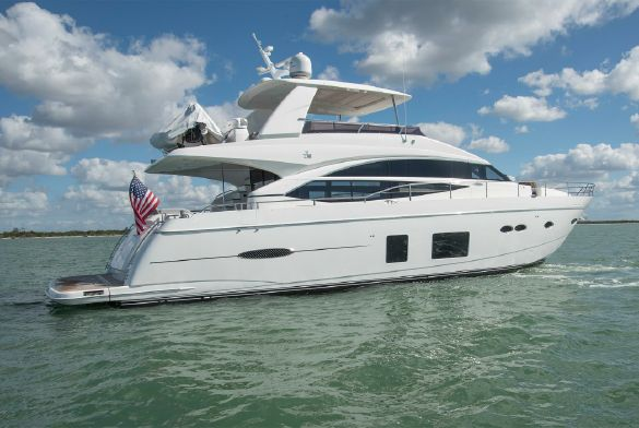 Princess 72 Motor Yacht 2016 Proprio Yacht Canada Boats For