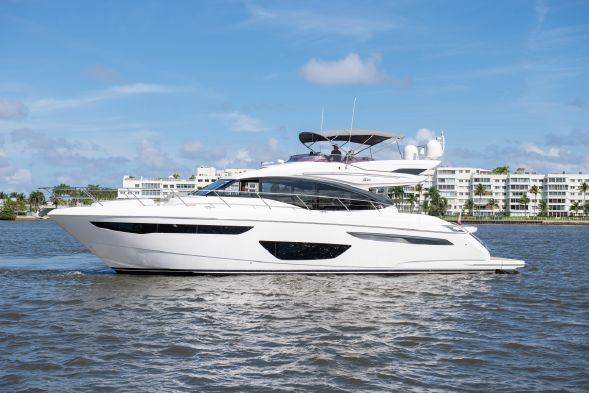 Princess Yacht S60 2018 Proprio Yacht Canada Boats For Sale